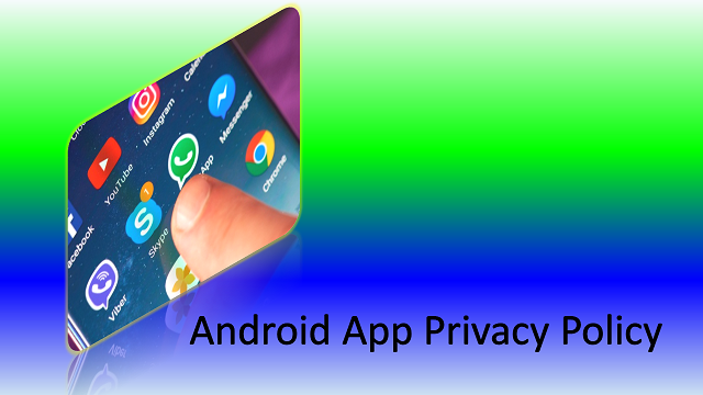 app privacy policy