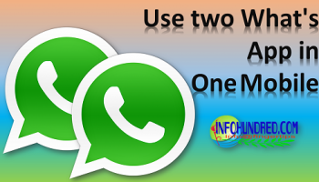 Set two whatsapp account
